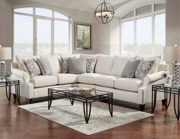 Bay Ridge Cream Sectional Group