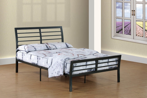 Omaha Twin Metal Bed - Furnlander