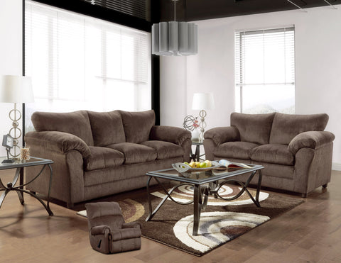 Kelly Chocolate Sofa Group