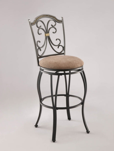 Biltmore Metal Swivel Bar Stool - Furnlander