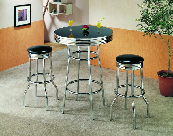 Baldwin Bar Table Set 3 PCS. SET (T + 2 CH) - Furnlander