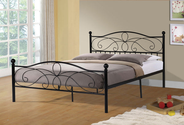 Taylor Metal Bed Black - Furnlander