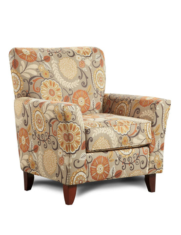 Karina Espresso Accent Chair
