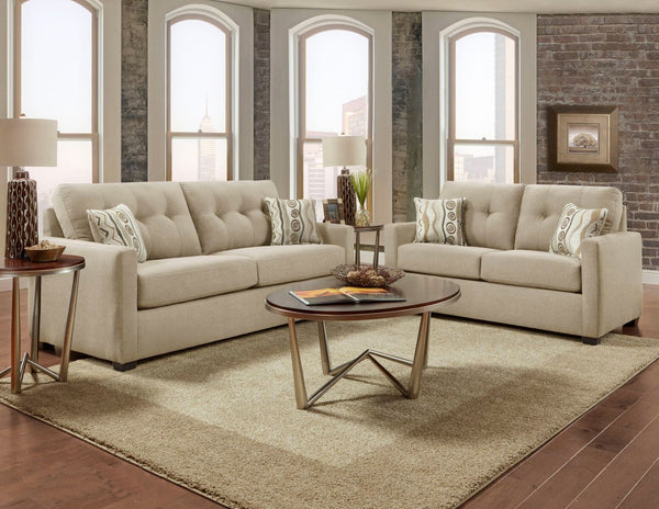 Mitchell Sand Sofa Group