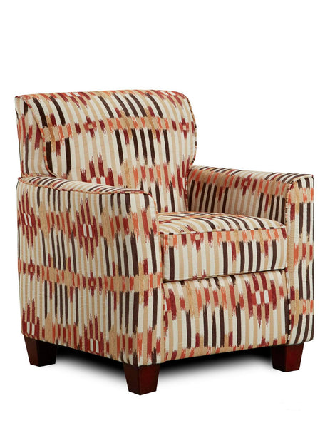 Temple Fire Accent Chair