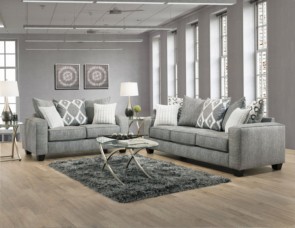 Stonewash Black Sofa Group