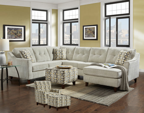 Sydney Cream Sectional Group