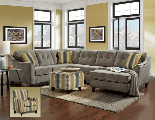 Sydney Gray Sectional Group