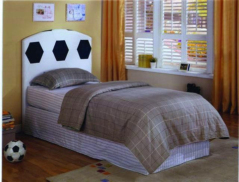 Soccer Design PVC Twin Head Board - Furnlander