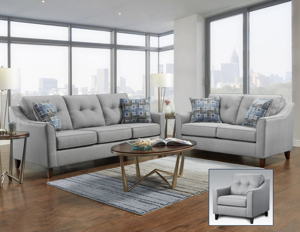 Ratio Pewter Sofa Group