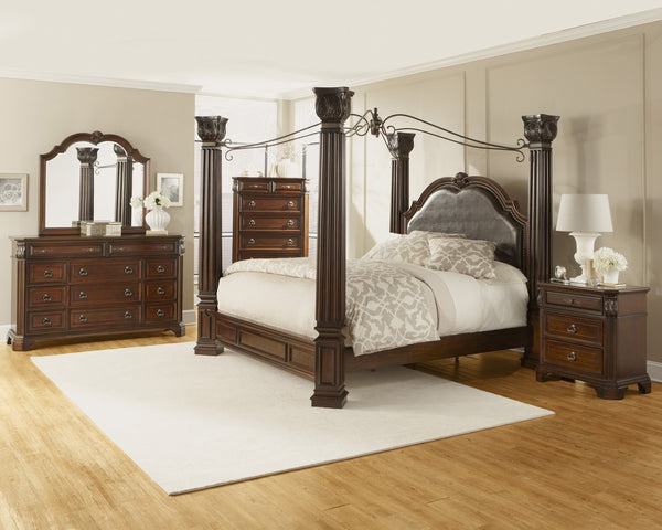 Alero Canopy Bed - Furnlander