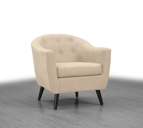 Gibson Accent Chair Neutral - Furnlander