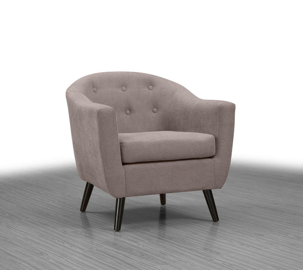 Gibson Accent Chair Taupe - Furnlander