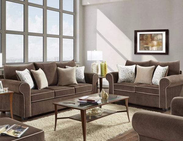 Beladonna Sofa - Fudge - Furnlander