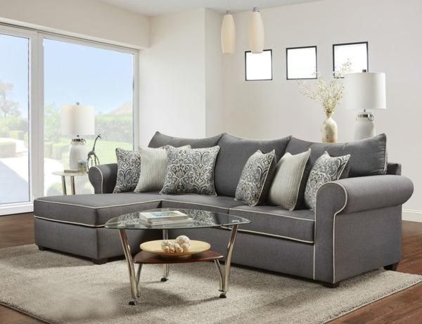 Jitterbug Gray Sectional Group