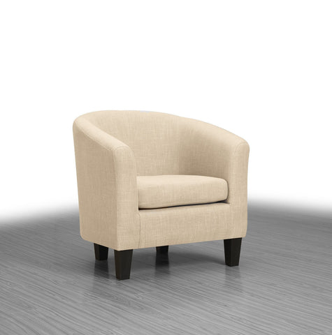 Collins Accent Chair Neutral - Furnlander