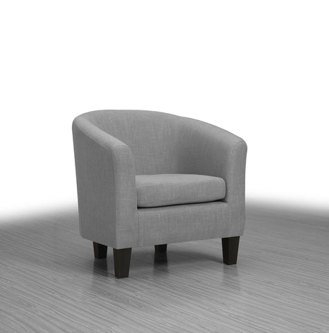 Collins Accent Chair Steel - Furnlander