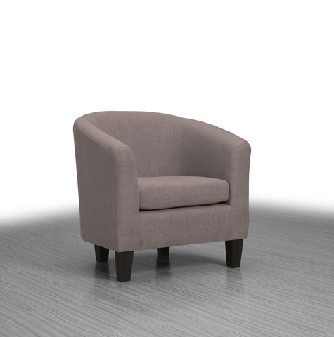 Collins Accent Chair Taupe - Furnlander