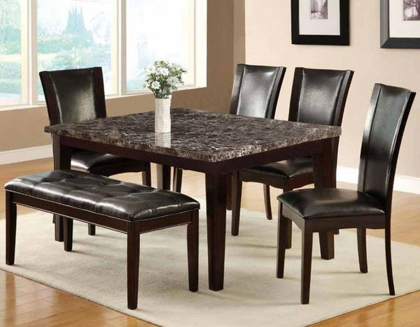 Trona Dining Table w/ Bench - Furnlander