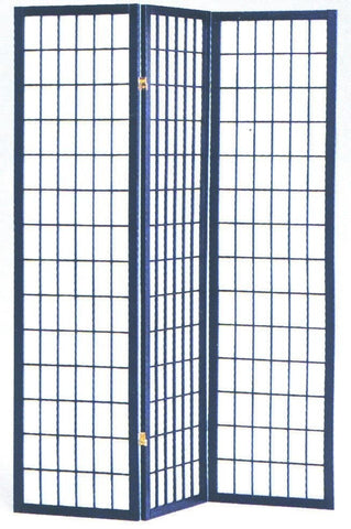 Mako Room Divider Black - Furnlander