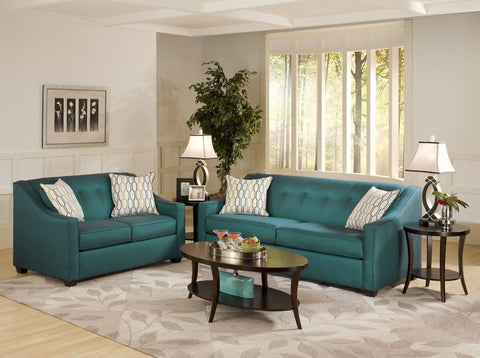 Latitude Sofa - Peacock - Furnlander