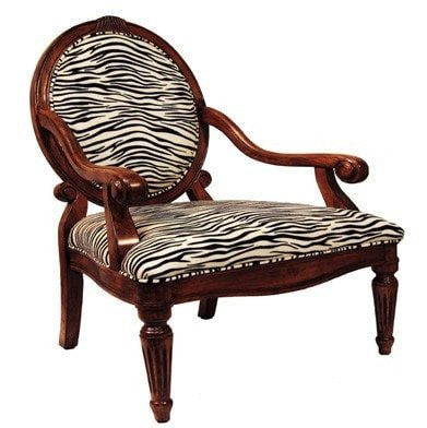 Braylen Occasional Chair White Tiger - Furnlander