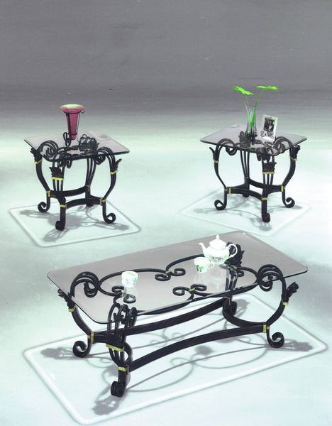 Mercer Coffee Table Set 3 PCS. SET (1C + 2E) - Furnlander