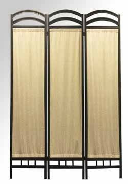 Logan Room Divider Metal / Cloth - Furnlander