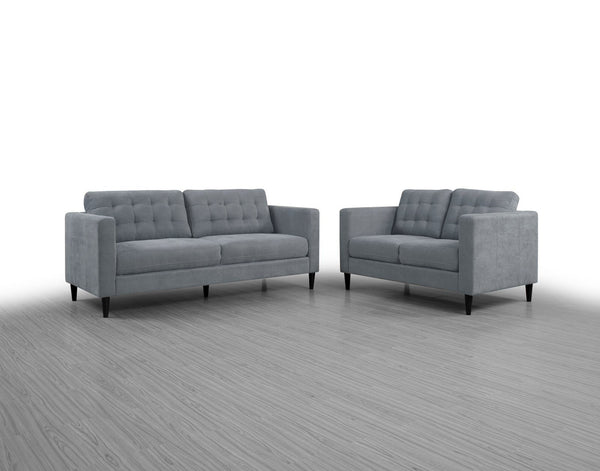 Crawford Sofa Steel - Furnlander
