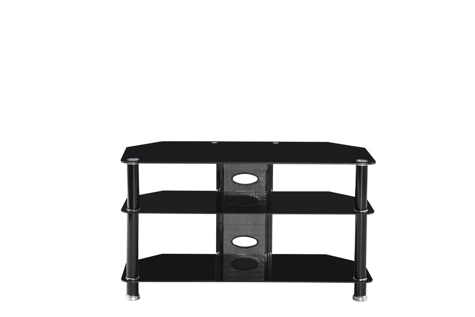 Metal Glass Tv Stand Pacific Imports Inc