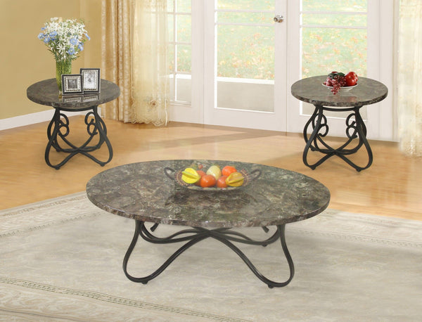 Sierra Coffee Table Set 3 PCS. SET (1C + 2E) - Furnlander