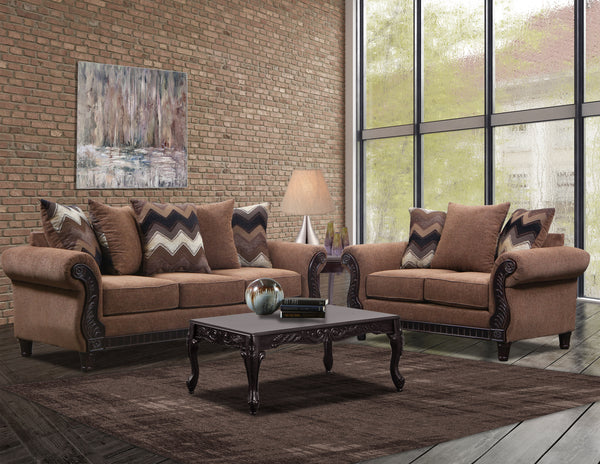 Brown Sofa Group