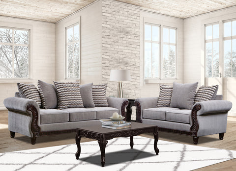 Gray Sofa Group