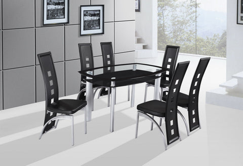 Gavin Dining Table Black - Furnlander