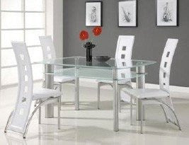 Gavin Dining Table White - Furnlander