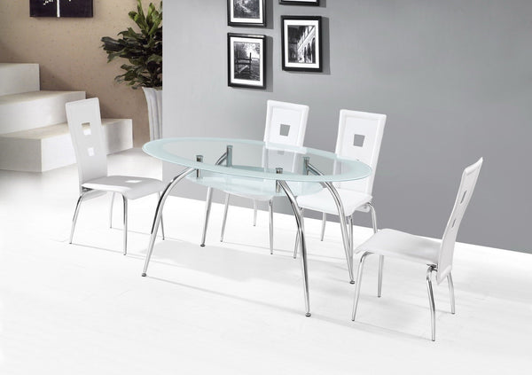 Rhodes Dining Table White - Furnlander