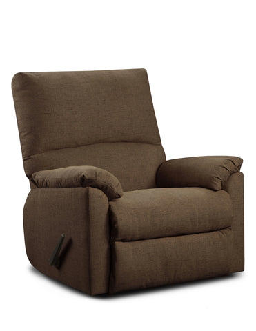 Mitchell Chocolate Recliner