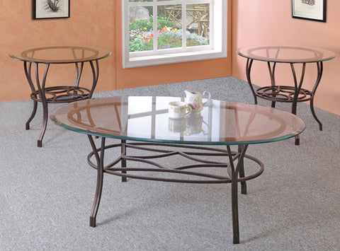 Manilla Coffee Table Set 3 PCS. SET (1C + 2E) - Furnlander