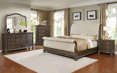 Tufted Bedroom Group