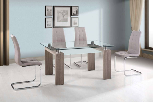 Valentina Dining Table Beige - Furnlander