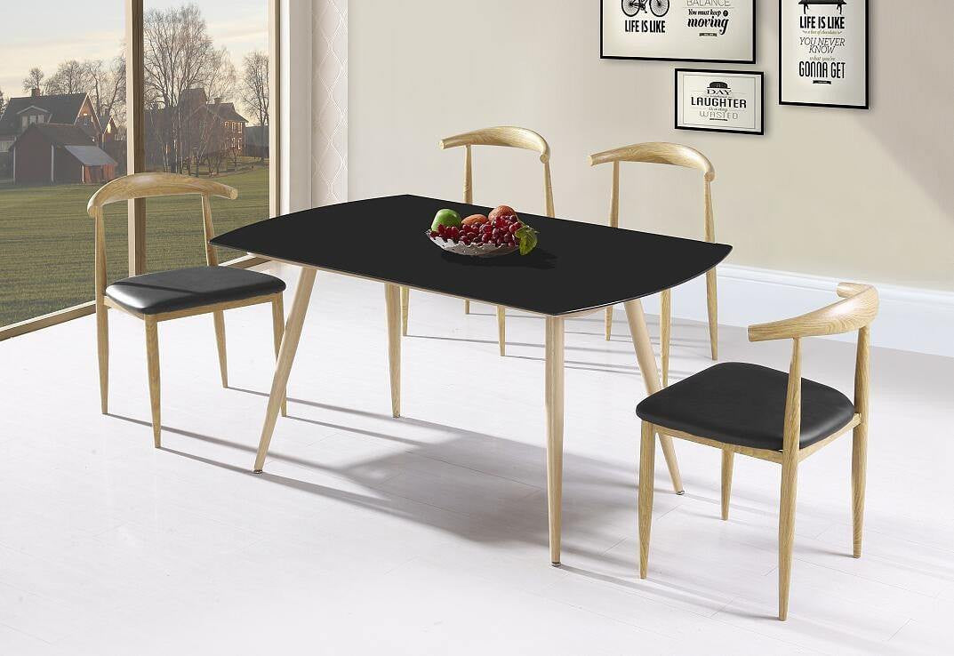 Metal Base Dining Table Pacific Imports Inc