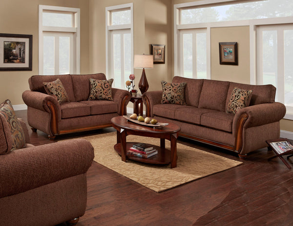 Delray Fudge Sofa Group