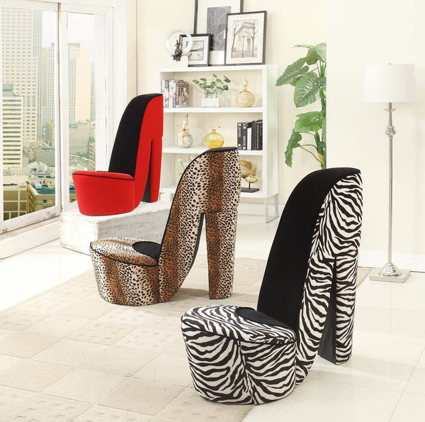 Upholstered Shoe Chair - Furnlander