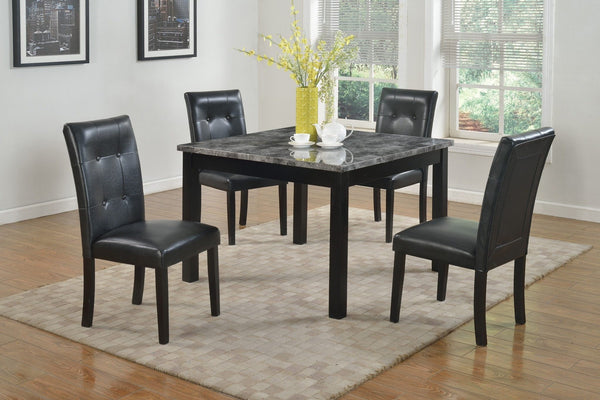 Mavos Dining Table Set 5 PCS. SET (T + 4 CH) - Furnlander