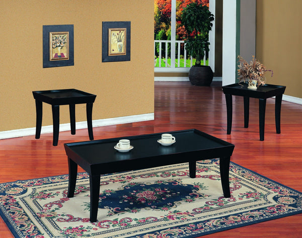 Sylvana Espresso Coffee Table Set 3 PCS. SET (1C + 2E) - Furnlander