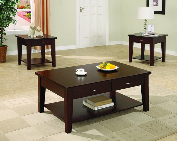 Kami Coffee Table Set 3 PCS. SET (1C + 2E) - Furnlander