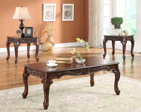 Brighton Coffee Table Set 3 PCS. SET (1C + 2E) - Furnlander