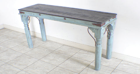 Rustic Indian Sofa Table