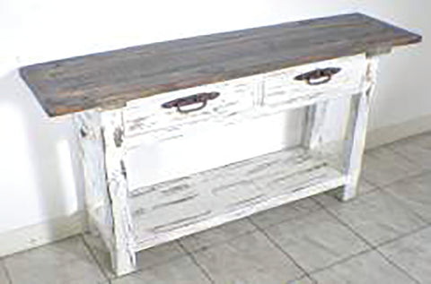 Rustic Lyon Sofa Table