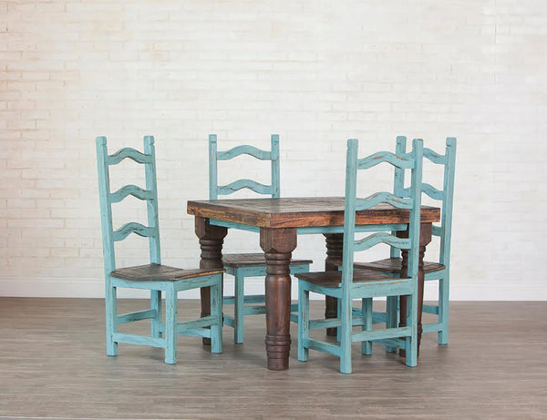 "Rustic Square Dining Table; 48"" x 48"""
